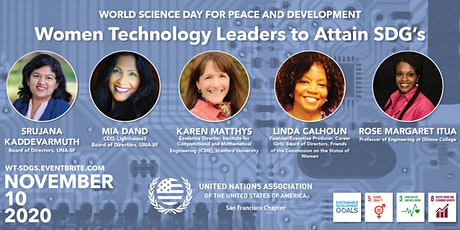 World Science Day: Women Technology Leaders to Attain SDG's tickets
