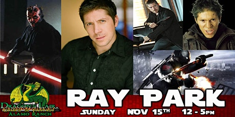 In-Store Signing with Ray Park tickets