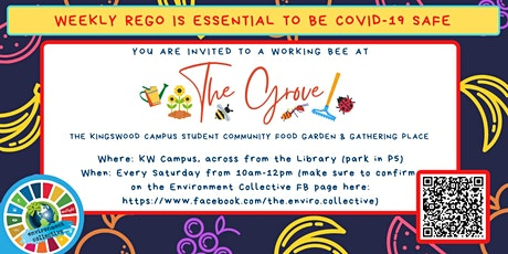 Working bee at 'The Grove', the Kingswood campus food garden tickets