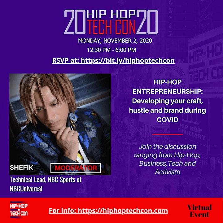 HIP-HOP TECH CON Conference 2020 image