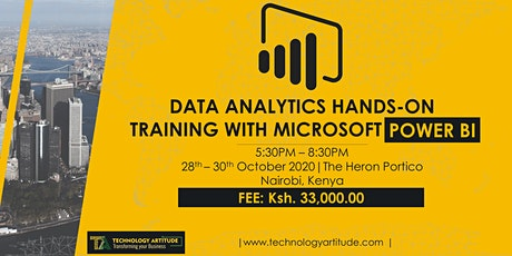 Data Analytics with Microsoft Power BI Hands-on Training tickets