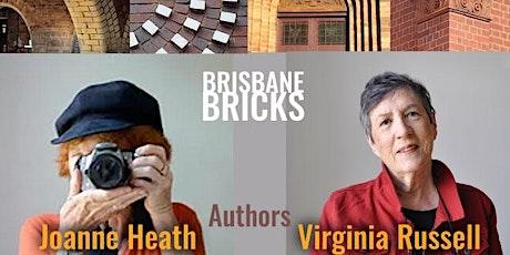"""BOH DESIGN TALKS Book talk, """"Brisbane Bricks""""  (online or in person) tickets"""