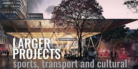 BOH DESIGN TALKS Larger projects, sports, transport & cultural  (online) tickets