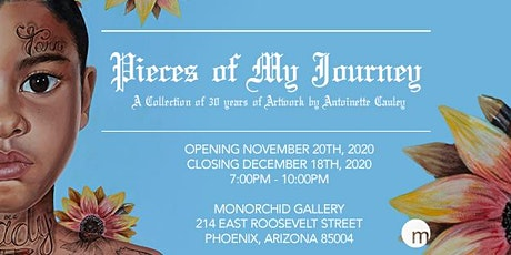 "Antoinette Cauley ""Pieces of My Journey"" Exhibition tickets"