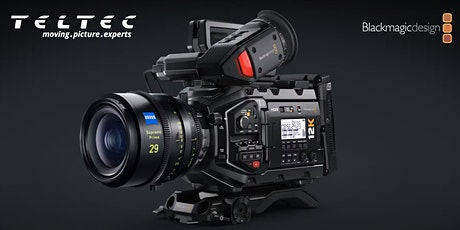 Blackmagic Design URSA Mini Pro 12K Roadshow | Teltec Berlin Tickets