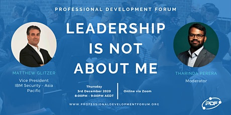 Leadership Is Not About Me tickets