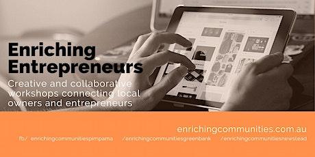Enriching Entrepreneurs - Graphic Design Workshop tickets