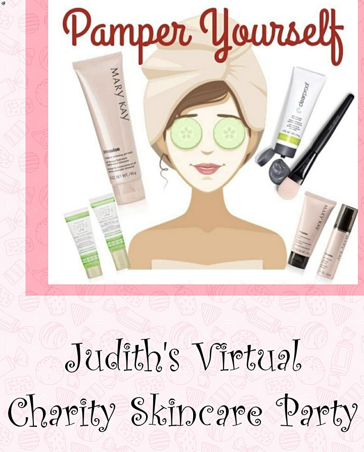 Virtual Charity Skincare Party image