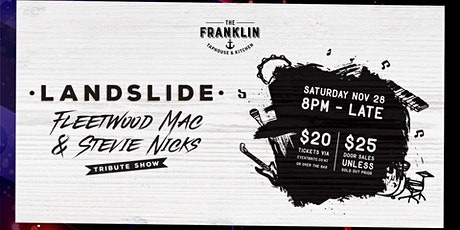 Landslide - Fleetwood Mac/Stevie Nicks Tribute Show tickets