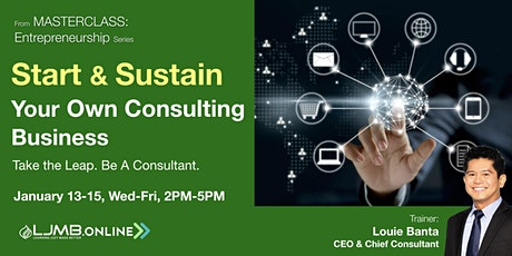Start & Sustain Your Own Consulting Business tickets