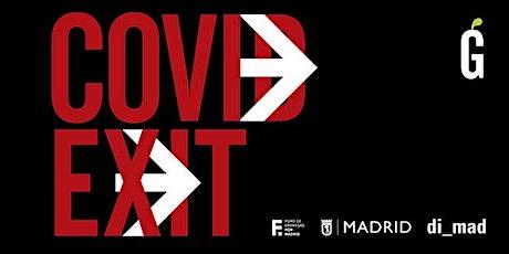 Acto de presentación de Covid Exit / Madrid Gráfica 20 entradas