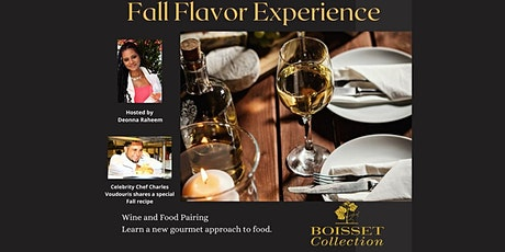 Fall Flavor Experience tickets