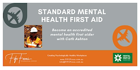 MHFA Standard Mental Health First Aid tickets