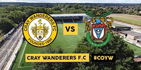 Cray Wanderers VS Bognor Regis Town tickets