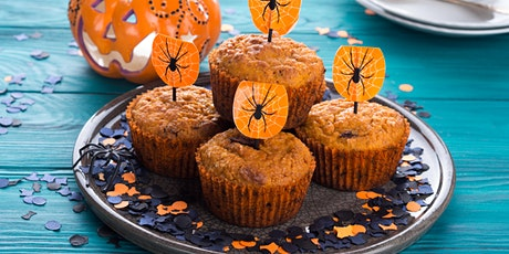 Kids Cooking class - Halloween Pumpkin Chocolate Chips Muffins tickets
