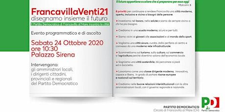 FRANCAVILLA VENTI21 biglietti
