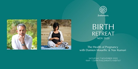 Birth Retreat Nov 2020 - The Health of Birth - Damien Mouellic & Nav Kumari tickets