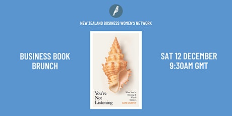 Business Book Brunch: You're Not Listening by Kate Murphy tickets