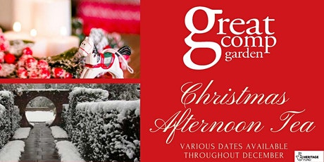 Great Comp Garden's Christmas Afternoon tea tickets