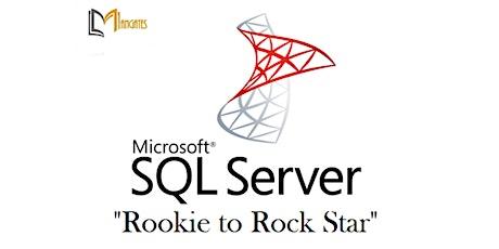 "SQL Server ""Rookie to Rock Star"" 2 Days Virtual Training in Phoenix, AZ tickets"