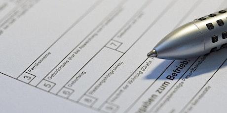 Übungsession zur ehrenamtlichen Sprachmittlung (Amtstermine) Tickets