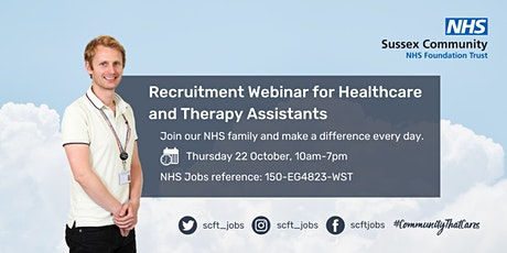 Healthcare Support Workers - Responsive Services - Recruitment Webinar tickets