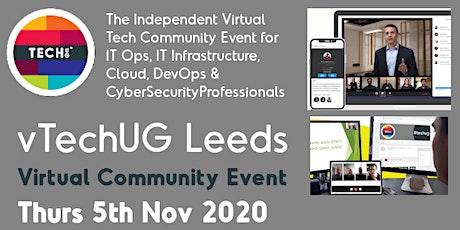 vTechUG Leeds Virtual Community Event tickets