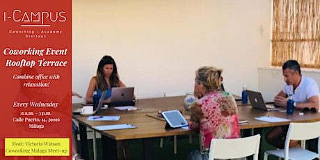 Working together on the rooftop terrace entradas