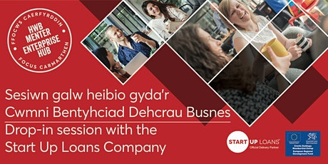 Sesiwn galw heibio | Drop-in session with Start Up Loans Company tickets