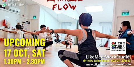 Animal Flow - By Instructor Vienna tickets