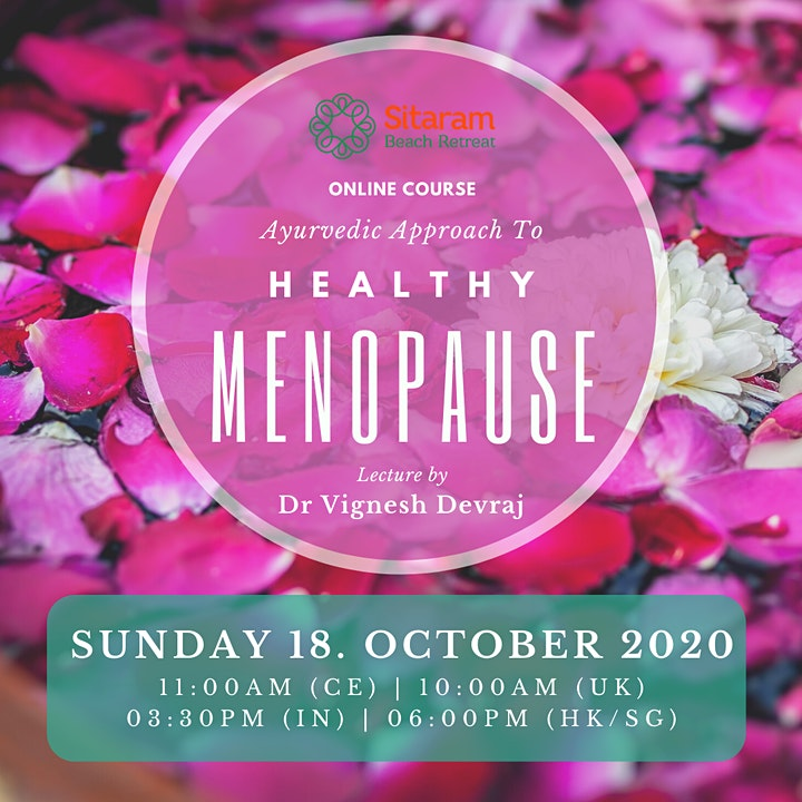 "Ayurvedic Approach to Healthy ""Menopause"" image"