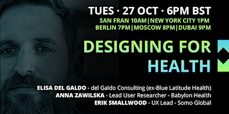UX Crunch at Home: Designing for Health tickets