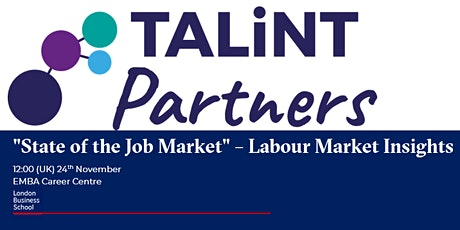 "LBS ""State of the Job Market"" – Labour Market Insights tickets"