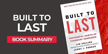 Book Review & Discussion : Built to Last tickets