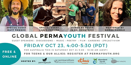 Global Permayouth Festival October tickets