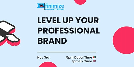 Level Up Your Professional Brand tickets
