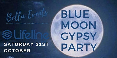 Blue Moon Gypsy Halloween - Once in a Lifetime Party for Lifeline WA tickets