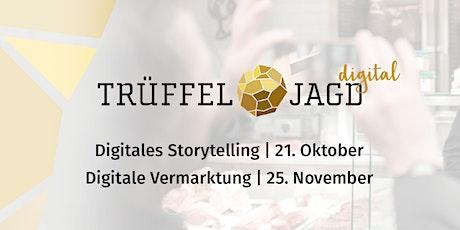 Trüffeljagd digital #2: Digitale Vermarktung Tickets