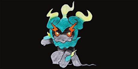 45min How to Draw Ghost Pokemon  - Mega Marshadow  @11AM (Ages 5+) tickets