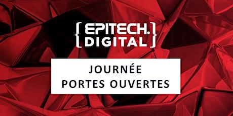 Journée Portes Ouvertes Epitech Digital billets