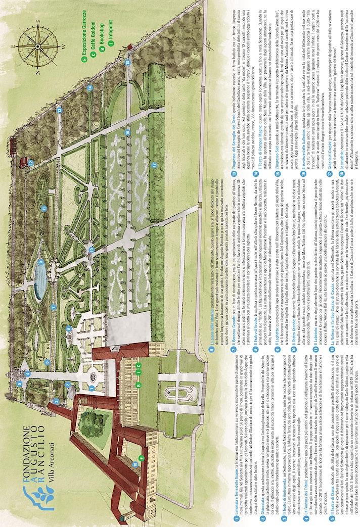 Immagine Villa Arconati: apertura giardino 2020