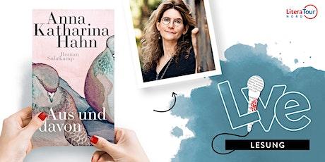 LESUNG: Anna Katharina Hahn tickets
