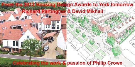 From the 2013 Housing Design Awards to York tomorrow tickets