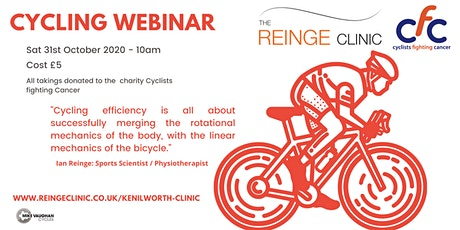 The Reinge Clinic : Cycling Webinar tickets