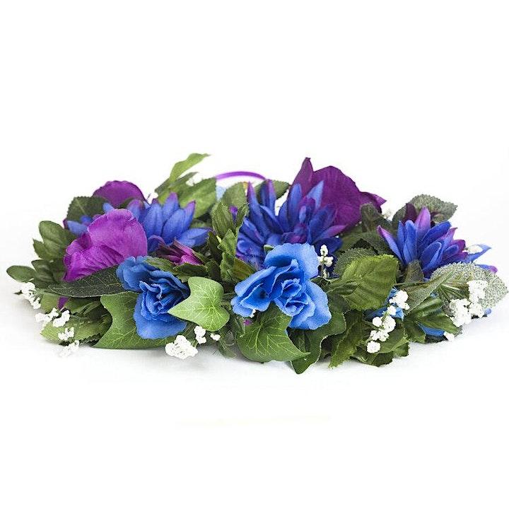 ONLINE Flower Crown Making image
