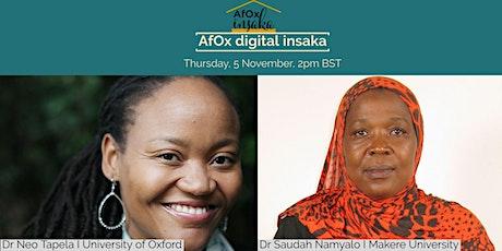 AfOx digital insaka tickets