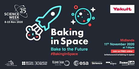Baking In Space - Bake to the Future: Midlands Science Festival tickets