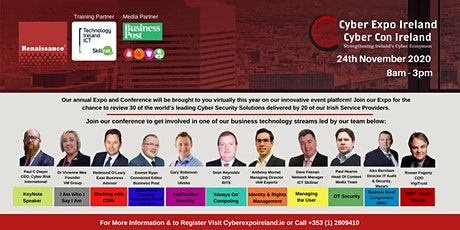 Cyber Expo & Conference Ireland 2020 tickets