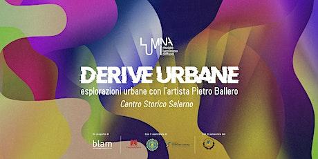 Derive Urbane -   workshop con l'artista torinese Pietro Ballero biglietti