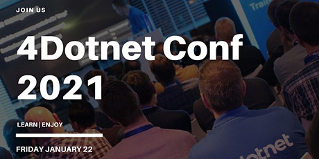 4Dotnet Conf 2021 tickets